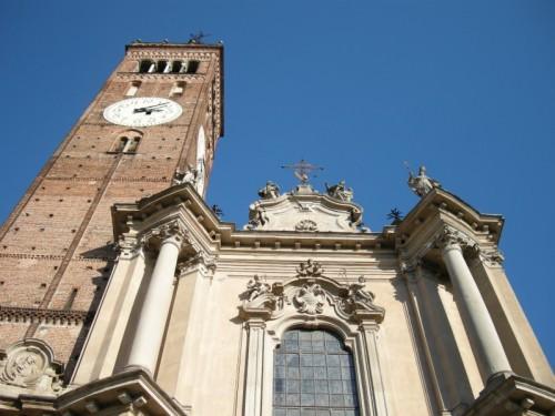 Treviglio - La facciata del Duomo.