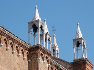 Particolare chiesa Venezia