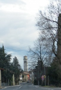 chiesa di cormons dal viale
