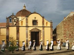 La piccola chiesa di San Bernardino
