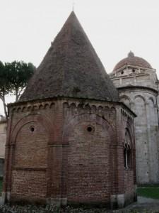 La cappella di S. Agata con San Paolo sullo sfondo