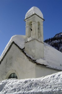 chiesa della frazione Valdo