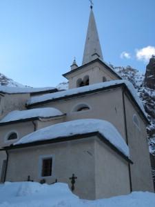 La chiesa di Rhemes Saint Georges