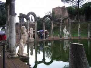 Villa Adriana sotto la pioggia