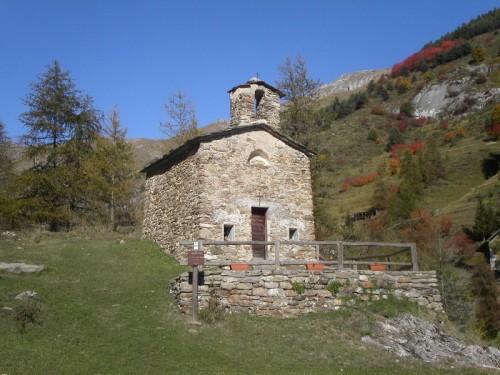 Briga Alta - Briga Alta, frazione Upega, chiesetta Madonna della Neve