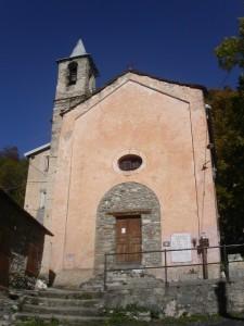 Briga Alta, frazione Carnino, chiesetta Madonna della Noce