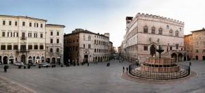 La Fontana Maggiore a Piazza IV Novembre