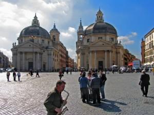 Sax a Piazza del Popolo