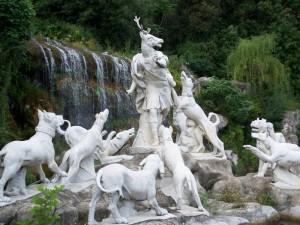 Fontana di Diana e Atteone - Particolare