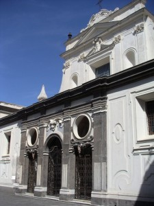 Certosa di San Martino - la chiesa
