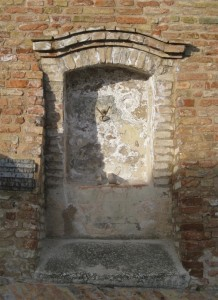 Fontana di Montale, frazione di Arcevia