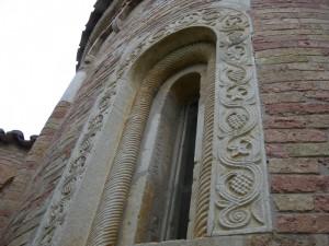 S.Maria del Lago - particolare dell'abside