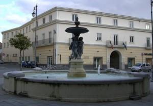 Fontana in Piazza San Pietro