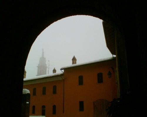 Sant'Angelo Lodigiano - Un campanile nella nebbia