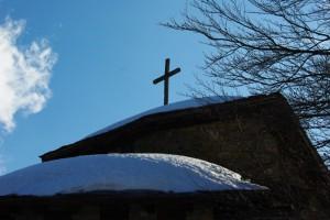 Tetto della chiesa delle Piane