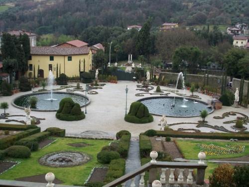Firenze - Collodi Villa Garzoni - Fontane