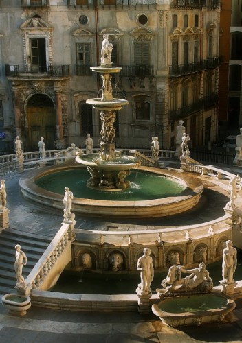 Palermo - Fontana pretoria  (Palermo)
