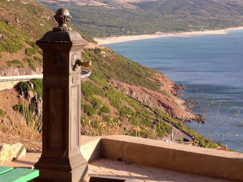 Iglesias - La fontana e la spiaggia Fontanamare