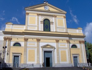 Facciata Duomo di Cava de' Tirreni