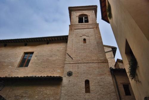 San Severino Marche - chiesa giovanni battista - campanile