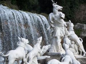 Fontana di Diana e Atteone Particolare