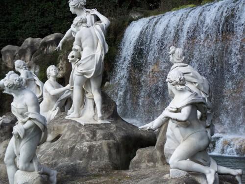 Caserta - Particolare Fontana di Diana e Atteone