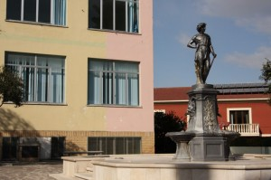 fontana di Piazza Europa