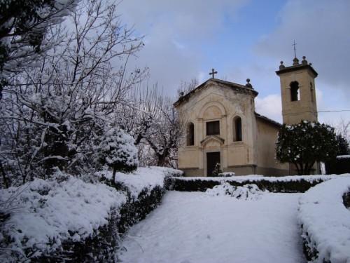 Folignano - Chiesa di San Michele - suggestiva visione