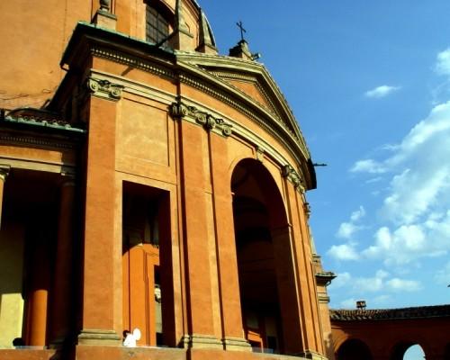 Bologna - Scorcio  del Santuario della Madonna di San Luca (Bologna)