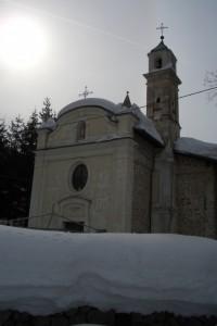 Chiesa di San'Antonio innevata