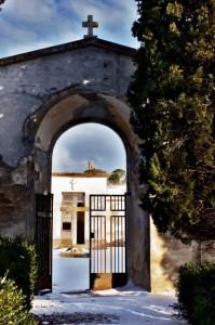Dal Cimitero ll Campanile della Chiesa di Regnano
