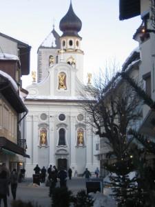 Bianca chiesa di Dobbiaco