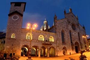 Il Duomo di Como alle Ultime Luci