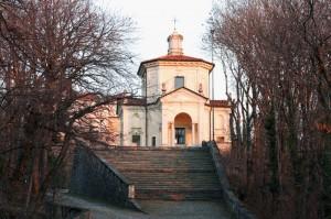 Cappella S.Monte di Varese al tramonto