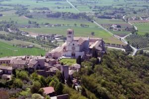 Basilica S.Francesco vista dall' alto