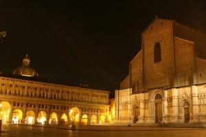 San Petronio by night