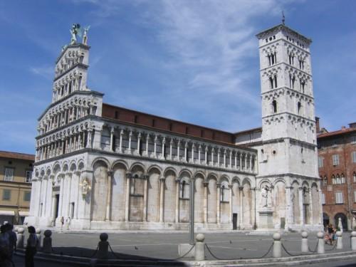 Lucca - CHIESA DI SAN MICHELE IN LUCCA