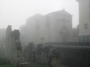 San Paolo Apostolo nella nebbia