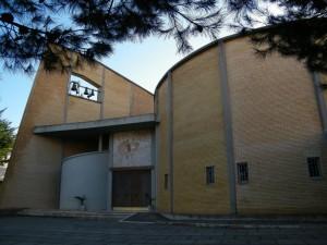 Controluce sulla Parrocchia S. Paolo