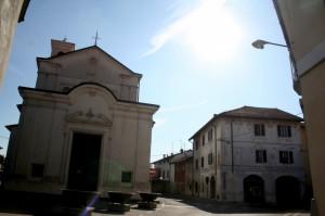 La chiesa ai Santi Martiri Cosma e Damiano