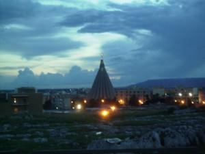 Basilica Santuario Madonna delle Lacrime - in panoramica notturna