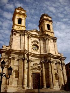 Chiesa di Sant'Anna in una giornata di sole
