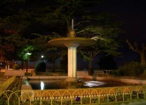 La fontana dei giardini