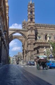 cattedrale e carrozzella
