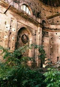 il giardino del monastero…