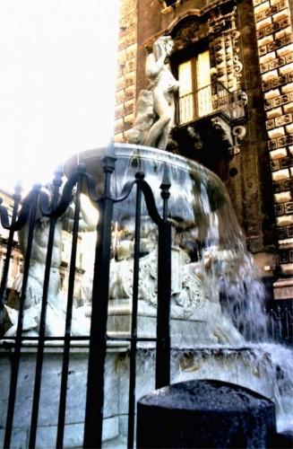 Catania - fontana dell Amenano...dal basso