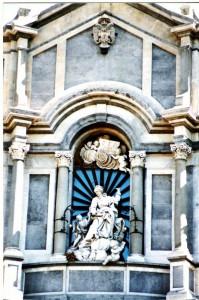 Duomo-particolare di S.Agata