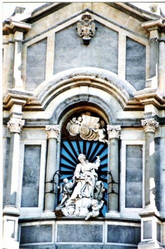 Catania - Duomo-particolare di S.Agata