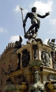 """""""Il Gigante"""" (al Zigànt) - La fontana del Nettuno (Bologna)"""