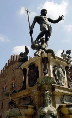 """Bologna - """"Il Gigante"""" (al Zigànt) - La fontana del Nettuno (Bologna)"""